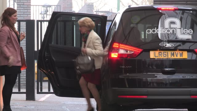 tippi hedren arrives at itv studios to appear on the breakfast show 'lorraine' sighted: tippi hedren on march 15, 2012 in london, england - tippi hedren stock videos & royalty-free footage