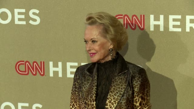 tippi hedren at cnn heroes: an all star tribute on 12/2/2012 in los angeles, ca. - tippi hedren stock videos & royalty-free footage