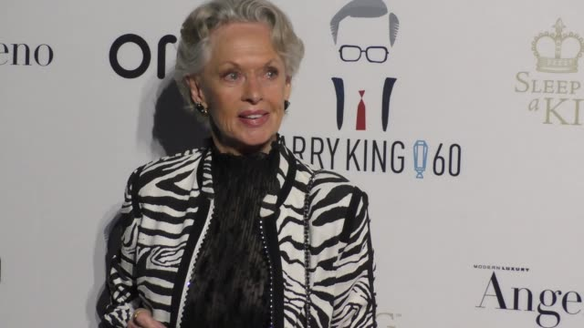 tippi hedren at larry king's 60th anniversary in broadcasting on may 01, 2017 in los angeles, california. - tippi hedren stock videos & royalty-free footage