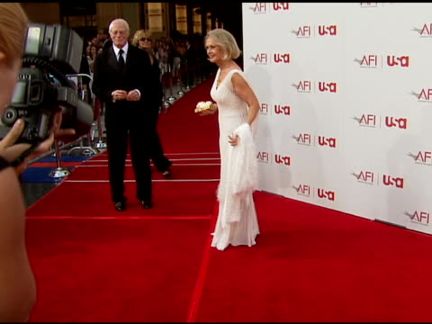 tippi hedren at the 34th afi life achievement award: a tribute to sean connery at the kodak theatre in hollywood, california on june 8, 2006. - tippi hedren stock videos & royalty-free footage