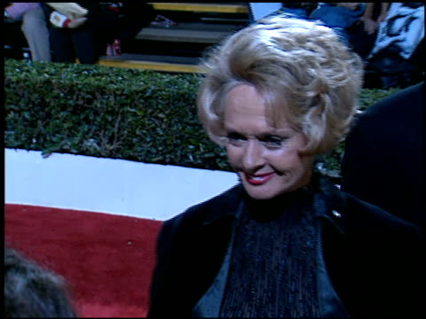 tippi hedren at the 'evita' premiere at the shrine auditorium in los angeles, california on december 14, 1996. - tippi hedren stock videos & royalty-free footage