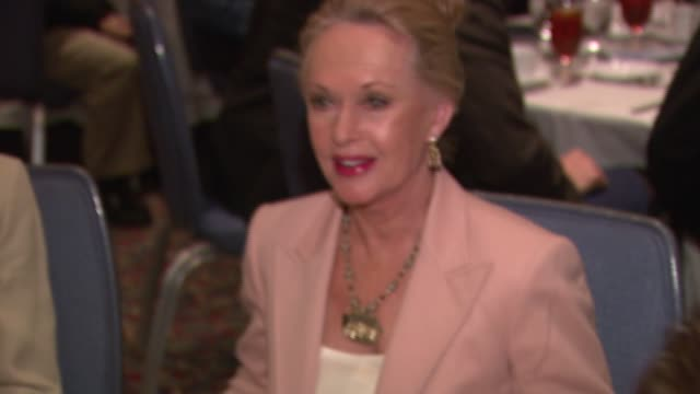 tippi hedren at the presentation of a lifetime achievement award to bob barker from the hollywood chamber of commerce at the renaissance hotel in los... - tippi hedren stock videos & royalty-free footage
