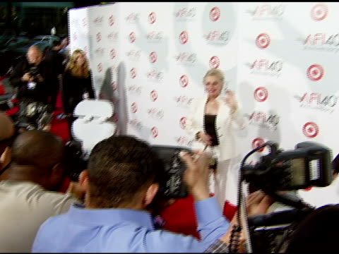 tippi hedren at the target presents afi's 40th anniversary at arclight cinemas in hollywood, california on october 3, 2007. - tippi hedren stock videos & royalty-free footage