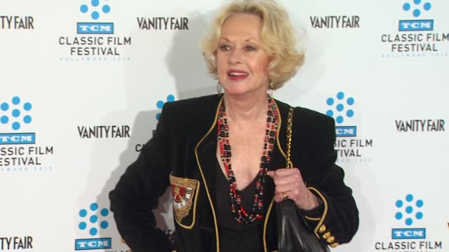 tippi hedren at the tcm classic film festival opening night screening of 'a star is born' at hollywood ca. - tippi hedren stock videos & royalty-free footage
