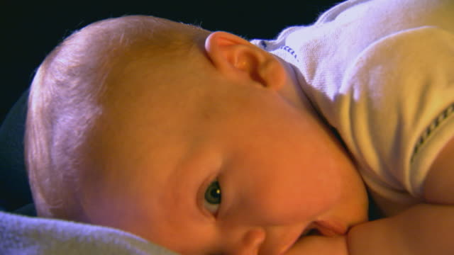 tired little baby boy - one baby boy only stock videos & royalty-free footage