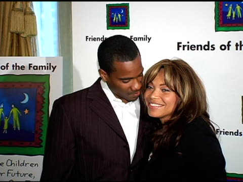 Tisha Campbell Martin and husband at the Families Matter Benefit and Celebration at the Regent Beverly Wilshire Hotel in Beverly Hills California on...