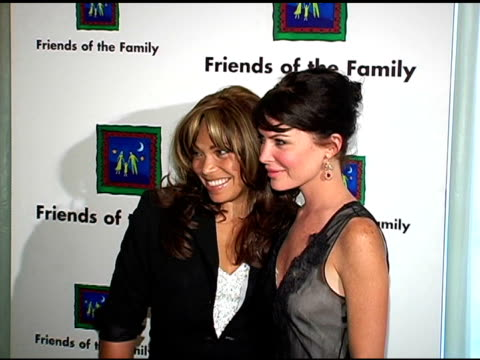 Tisha Campbell Martin and Lara Flynn Boyle at the Families Matter Benefit and Celebration at the Regent Beverly Wilshire Hotel in Beverly Hills...