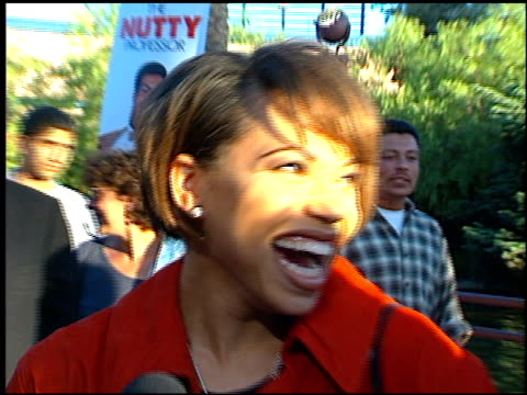 tisha campbellmartin at the premiere of 'the nutty professor' at universal amphitheatre in universal city california on june 28 1996 - martin campbell stock videos and b-roll footage