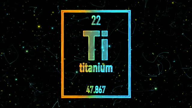 Titanium videos and b roll footage getty images titanium symbol as in the periodic table urtaz Image collections