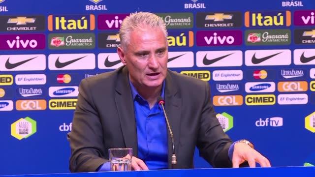 vídeos y material grabado en eventos de stock de tite se convirtio oficialmente en el nuevo tecnico de la seleccion brasilena de futbol en un momento critico: eliminada de forma precoz de la copa... - llevar