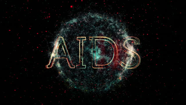 aids title animation - disease vector stock videos & royalty-free footage