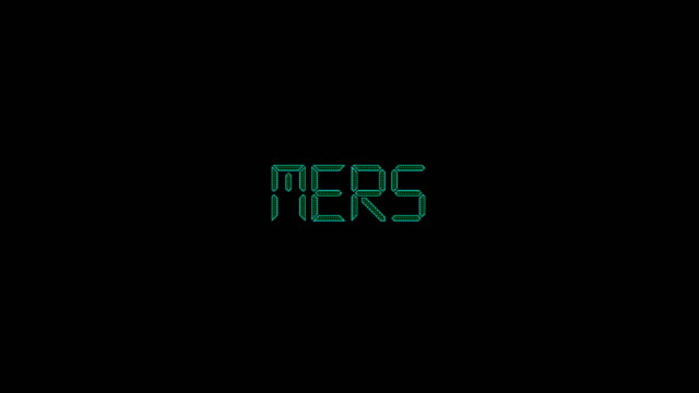 mers title animation - disease vector stock videos & royalty-free footage