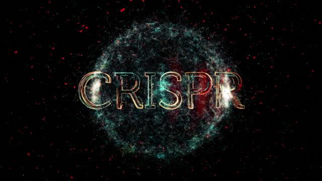 crispr title animation - rna stock videos & royalty-free footage