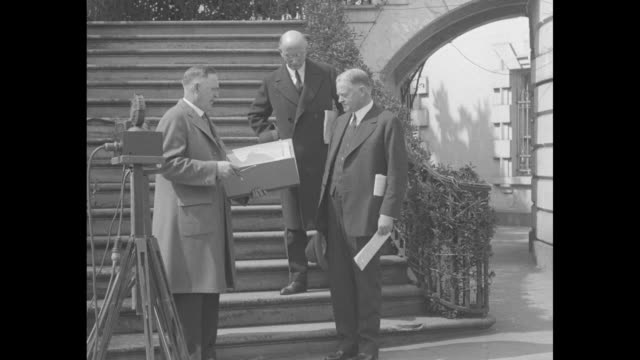 census begins as hoover gives data washington the president makes first return as family head in us count of population / president herbert hoover... - census stock videos & royalty-free footage