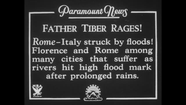 father tiber rages rome italy struck by floods florence and rome among many cities that suffer as rivers hit high flood mark after prolonged rains /... - ox cart stock videos & royalty-free footage