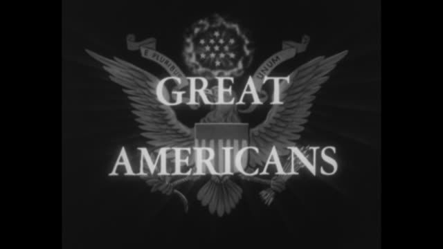 vídeos de stock, filmes e b-roll de great americans / title who said 'public office is a public trust' and then grover cleveland 1837 1908 superimposed over still painted portrait of... - texto