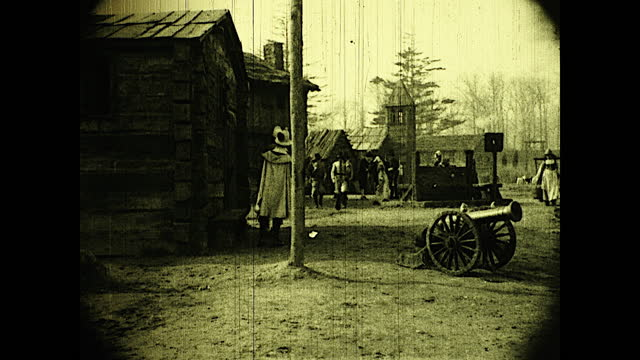 "title card ""jamestown, virginia, in the fall of 1923 -- an english colony, 17th century, that starvation and disease had not been able to destroy"";... - 17th century stock videos & royalty-free footage"