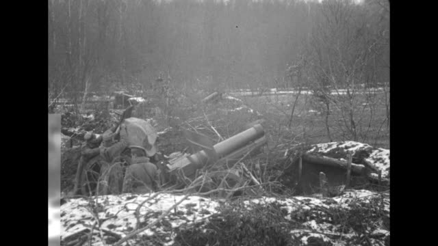 """near przemysl, austria. remarkable photographs by mr. ercole, staff correspondent of pathe news, of the big russian siege guns that cause the... - austria video stock e b–roll"