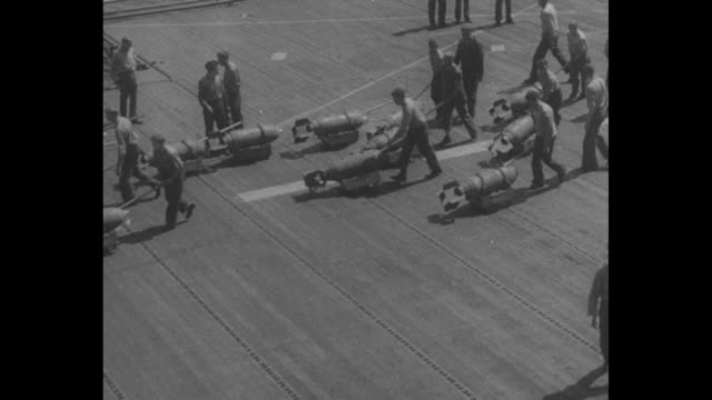 Philippines Sea Battles First Pictures / World War II / Pacific theater / ships at sea destroyers battleships and aircraft carriers / sailors...