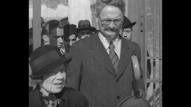 Trotsky in Trouble Barbizon Exiled Russian leader ordered out of France Raid on villa near Paris finds oldtime partner of Lenin plotting new...