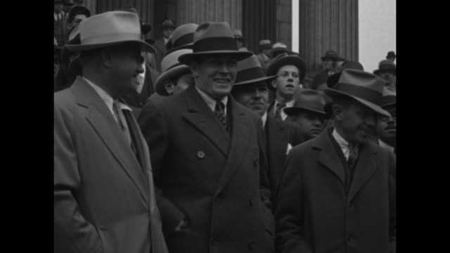 all footage sped up title card tunney k o's in big law fight new york retired boxing champion leaves courthouse after winning $526000 battle / gene... - primo carnera stock videos and b-roll footage