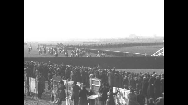 us horse wins classic aintree eng $10000 at stake on this race americanowned 'kellsboro jack' 251 shot captures grand national world's greatest... - hurdling horse racing stock videos and b-roll footage