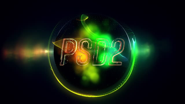 psd2 title - european union coin stock videos & royalty-free footage