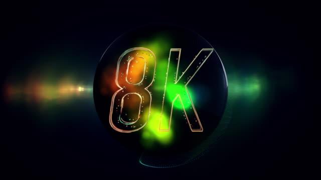 titolo 8k - television show video stock e b–roll