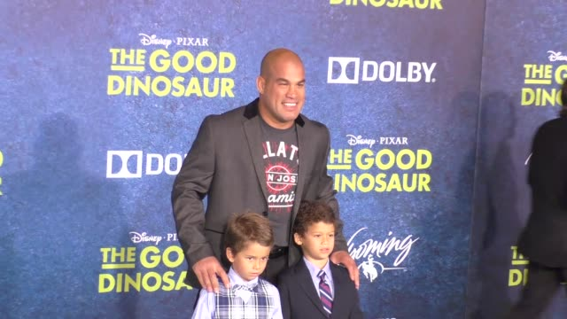 Tito Ortiz at The Good Dinosaur Premiere at El Capitan Theatre in Hollywood in Celebrity Sightings in Los Angeles