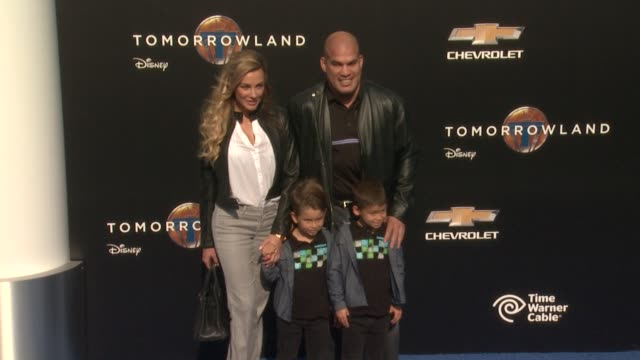 Tito Ortiz at the Tomorrowland Los Angeles Premiere at AMC Downtown Disney 12 Theater on May 09 2015 in Anaheim California