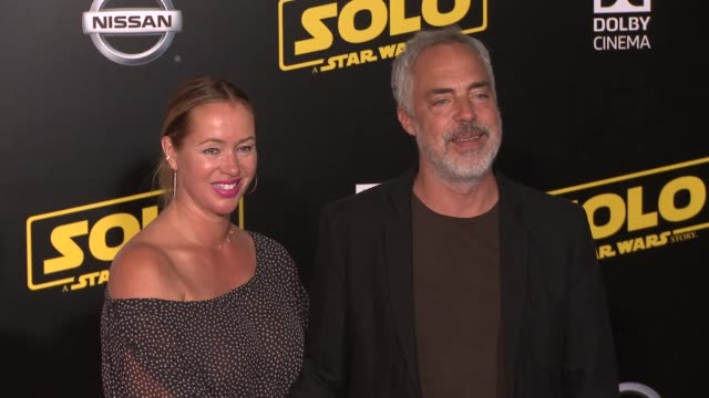 stockvideo's en b-roll-footage met titus welliver at the solo a star wars story world premiere at the el capitan theatre on may 10 2018 in hollywood california - titus welliver