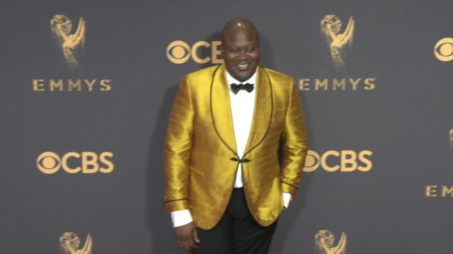 tituss burgess at the 69th annual primetime emmy awards at microsoft theater on september 17, 2017 in los angeles, california. - ceremony stock videos & royalty-free footage