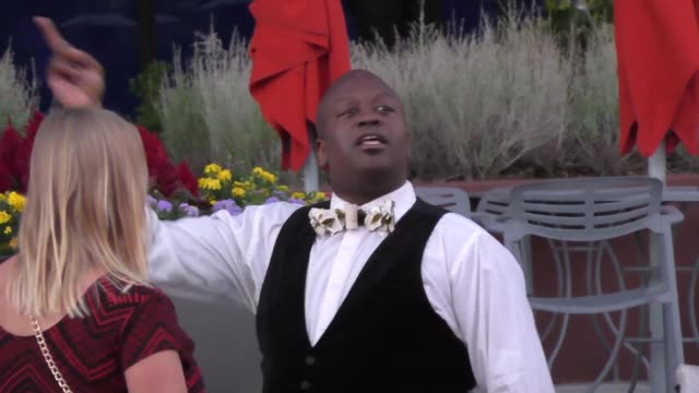 tituss burgess at the television academy celebrates the 67th emmy award nominees for outstanding performances at montage beverly hills at celebrity... - montage beverly hills video stock e b–roll