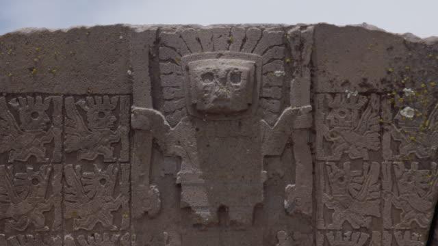 tiwanaku - bolivia - puma stock videos & royalty-free footage