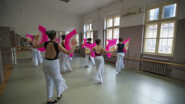 to be the best we need to practise hard - ballet studio stock videos & royalty-free footage