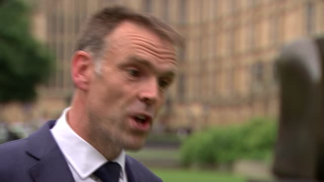 US to impose tariffs on steel imports prompting trade war worries ENGLAND London Westminster EXT Gareth Stace interview SOT