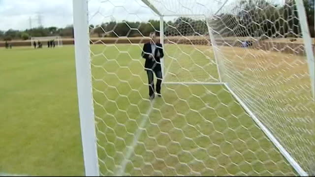 to re-think goal line technology; reporter to camera - fifa stock videos & royalty-free footage