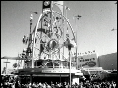 vídeos de stock e filmes b-roll de to the fair - 5 of 25 - 1964