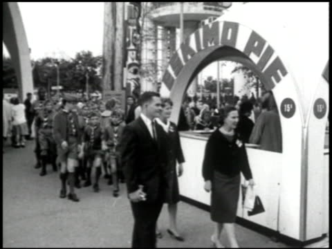 to the fair - 9 of 25 - 1964 stock videos and b-roll footage