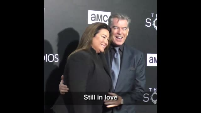 upload to instagram and share to facebook square will be retained all others use any editing software for square output - keely shaye smith and pierce brosnan stock videos & royalty-free footage