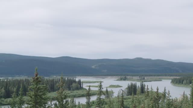 TILT DOWN to Yukon River