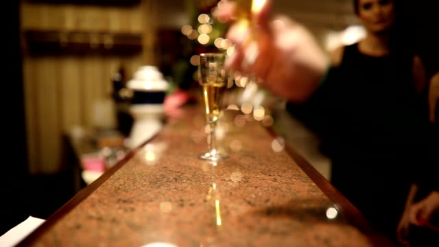 toast for new year - formal stock videos and b-roll footage