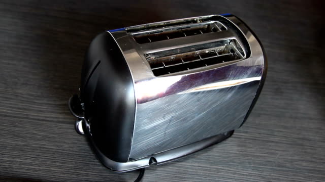 toast popping from toaster - toaster appliance stock videos & royalty-free footage