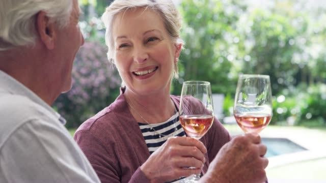 toast to many more happy years together - brunch stock videos & royalty-free footage