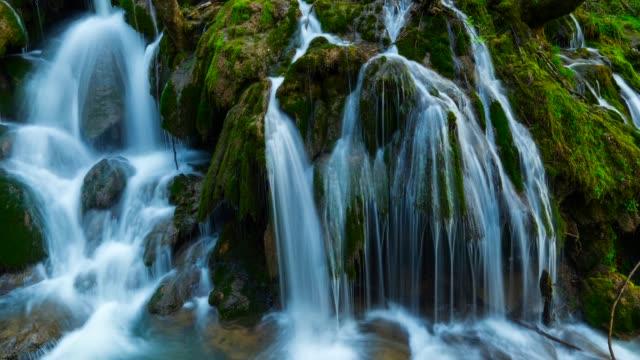 Tobería falls in Sierra Entzia Natural Park
