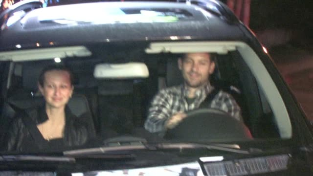 tobey maguire at chateau marmont in west hollywood at the celebrity sightings in los angeles at los angeles ca - tobey maguire stock videos and b-roll footage