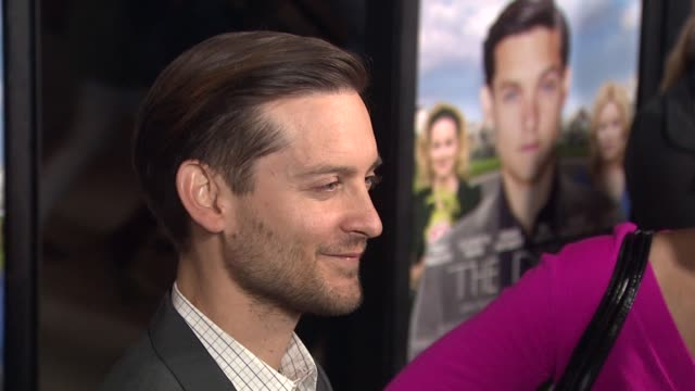 tobey maguire at grey goose vodka hosts 'the details' premiere in hollywood 10/29/12 - grey goose vodka stock videos & royalty-free footage