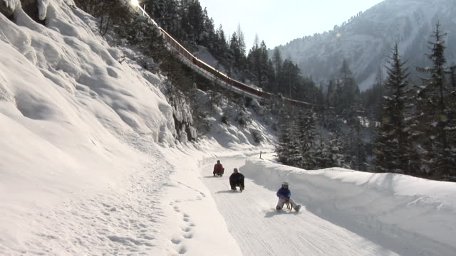 Toboggan run Preda – Bergün