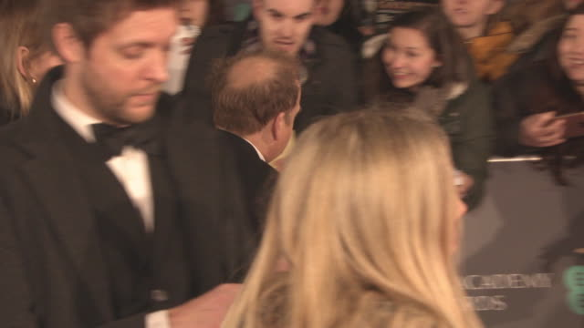 Toby Jones at the EE British Academy Film Awards at Royal Albert Hall on February 18 2018 in London England