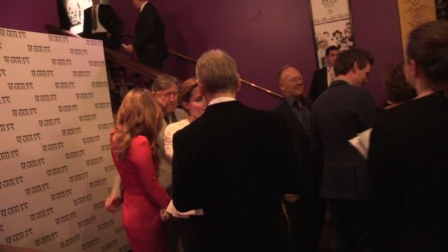 Toby Jones Kenneth Branagh Emma Watson Zoe Wanamaker Eddie Redmayne Derek Jacobi and Simon Curtis at the My Week with Marilyn UK Premiere at London...